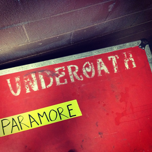Underoath and Paramore