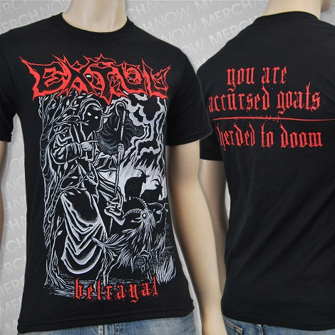 Lyric Video 'Betrayal' t-shirt