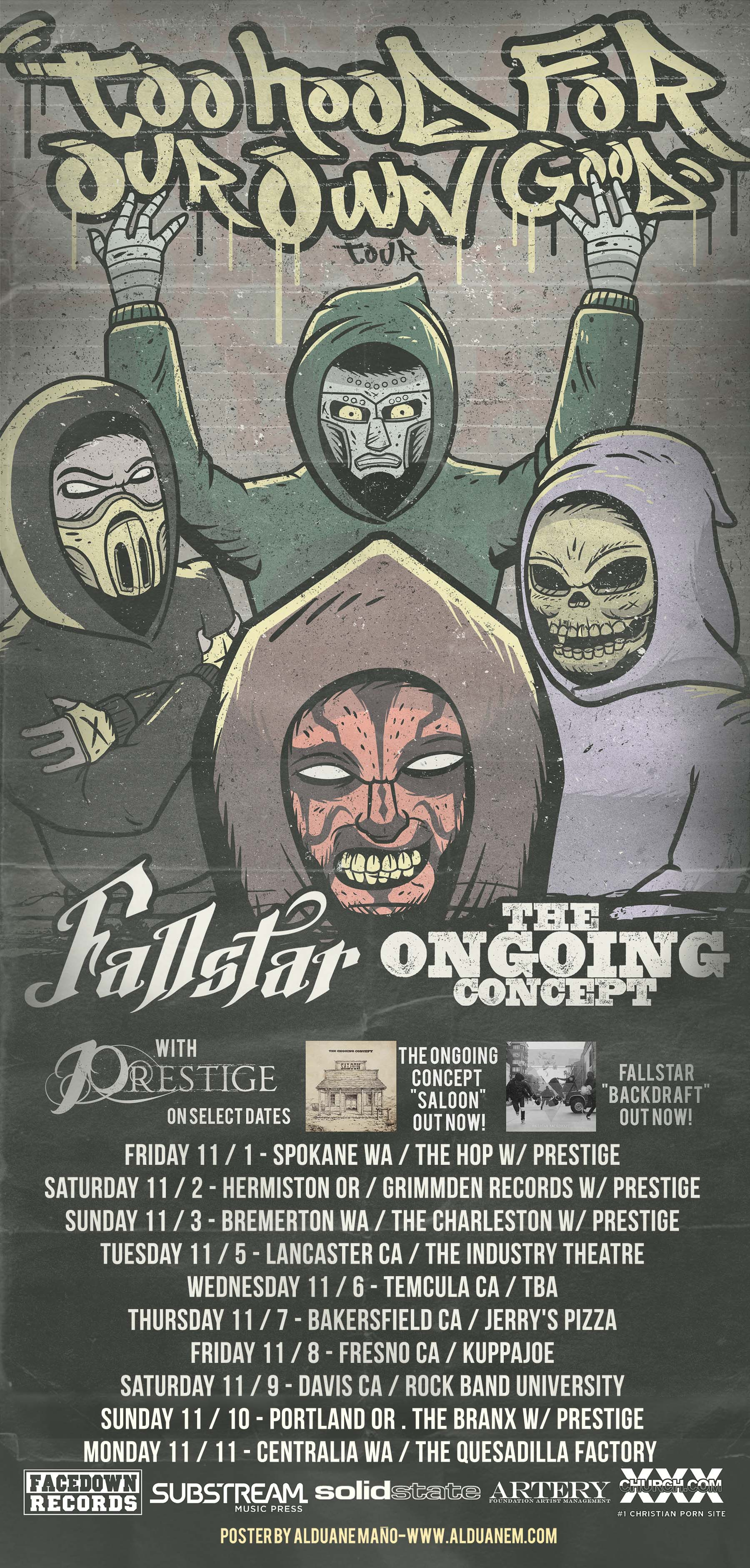 Fallstar and The Ongoing Concept Tour