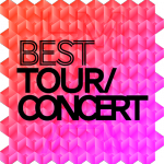 Best Tour/Concert - The HM Awards