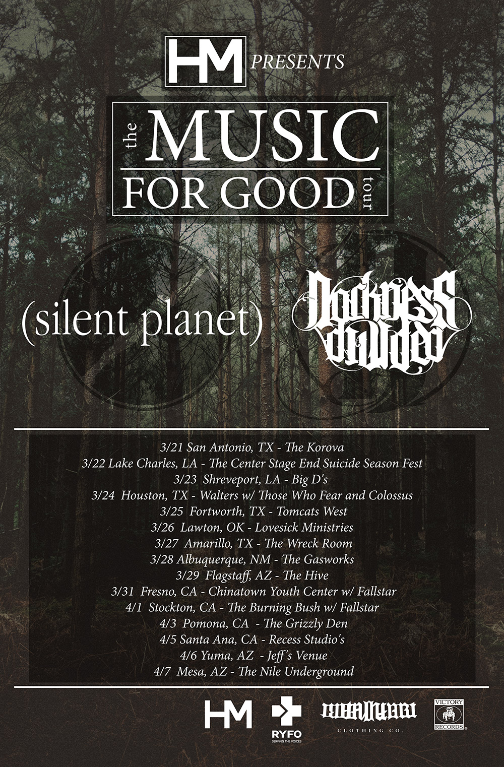 HM's Music for Good Tour 2014