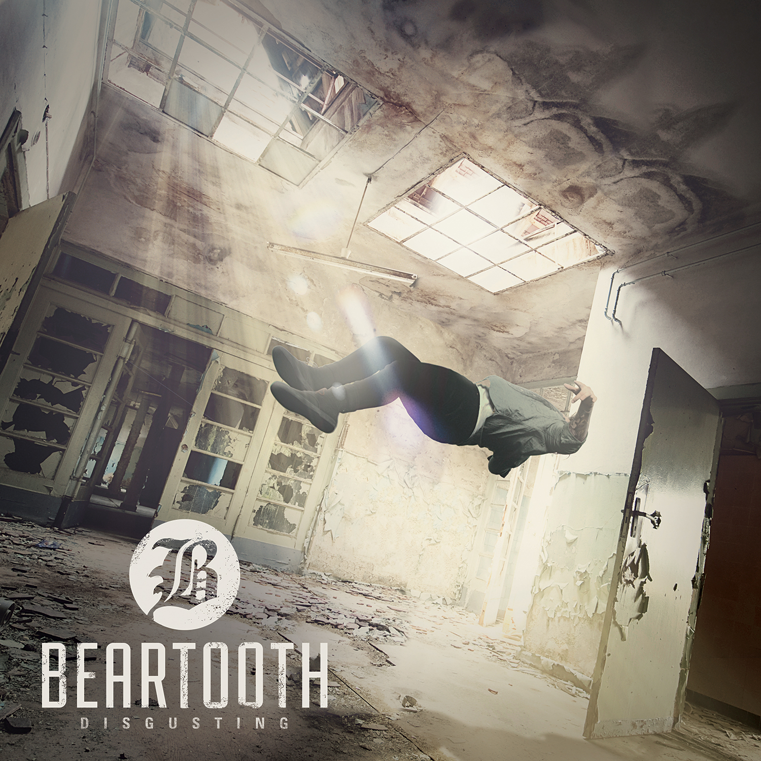 Beartooth - Disgusting Album Cover