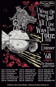 Listener tour with '68