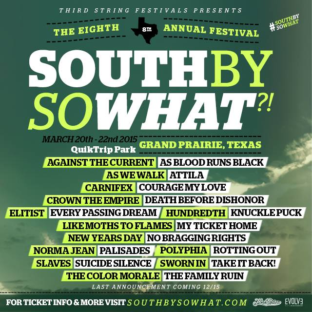 South by so what