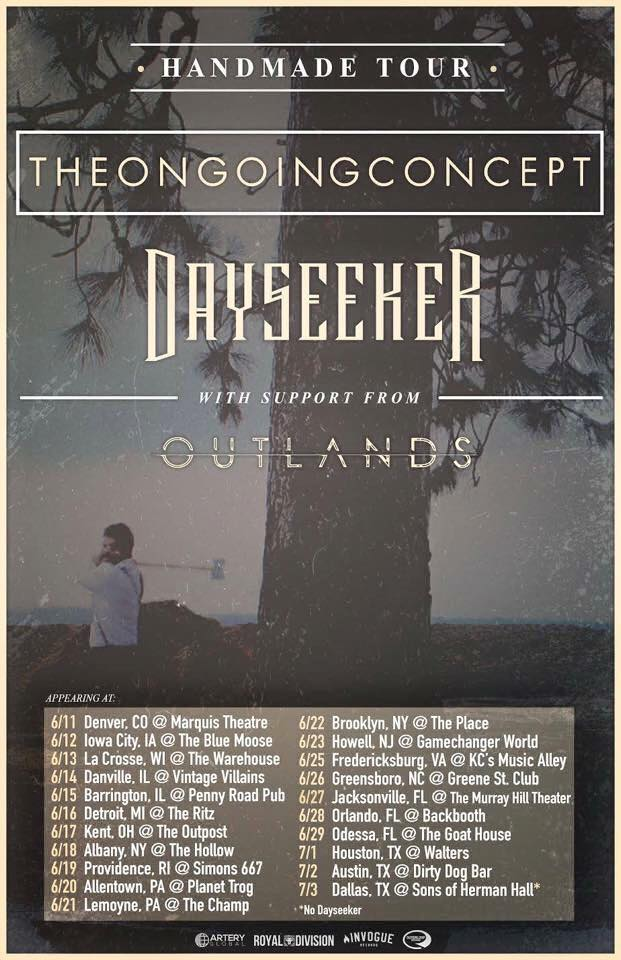The Ongoing Concept, Outlands and Dayseeker Tour