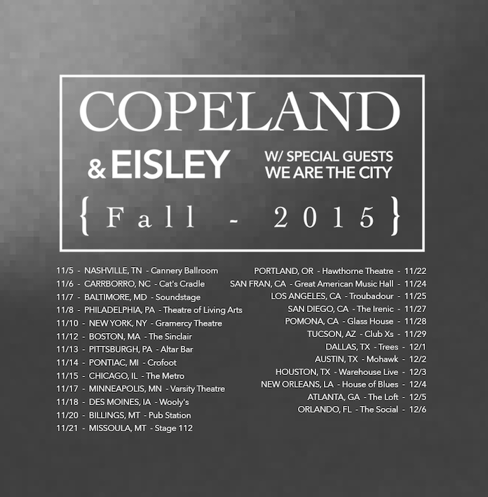 Copeland and Eisley