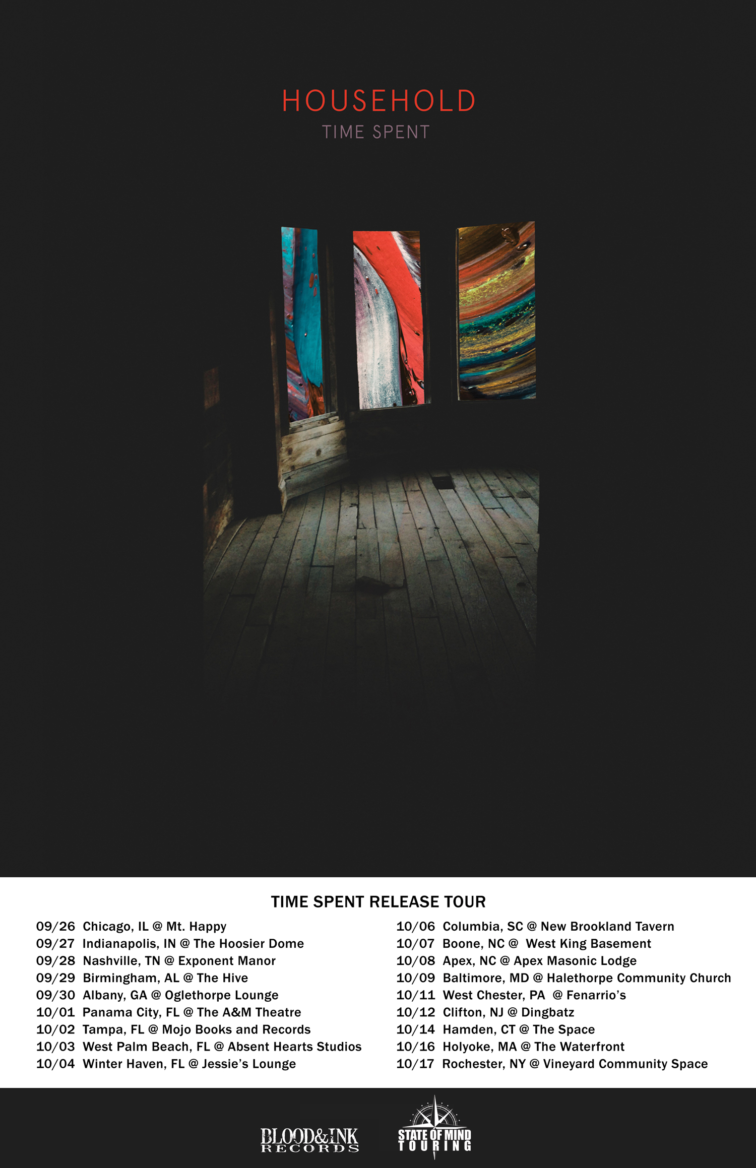 Household release tour