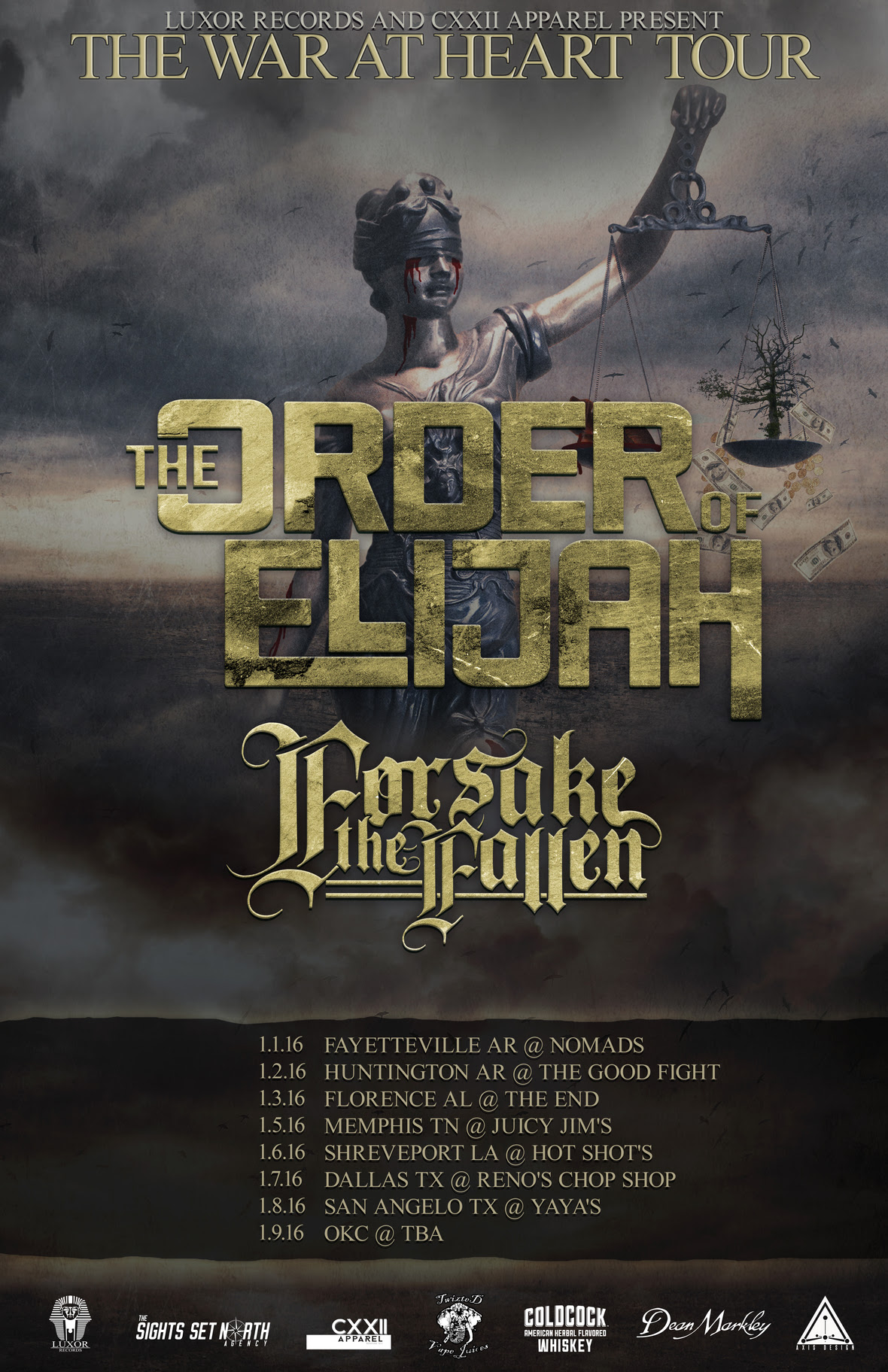 The Order of Elijah Tour