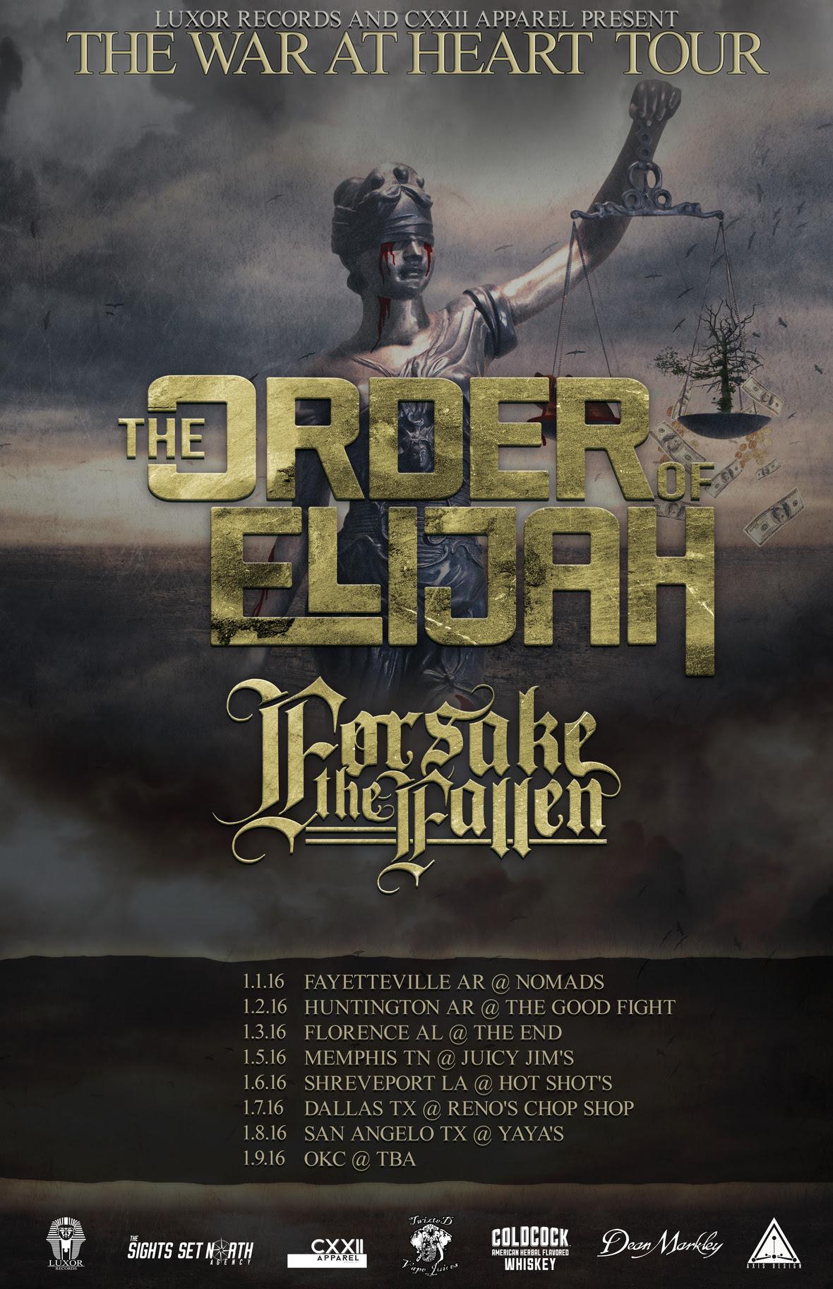 The Order of Elijah Tour