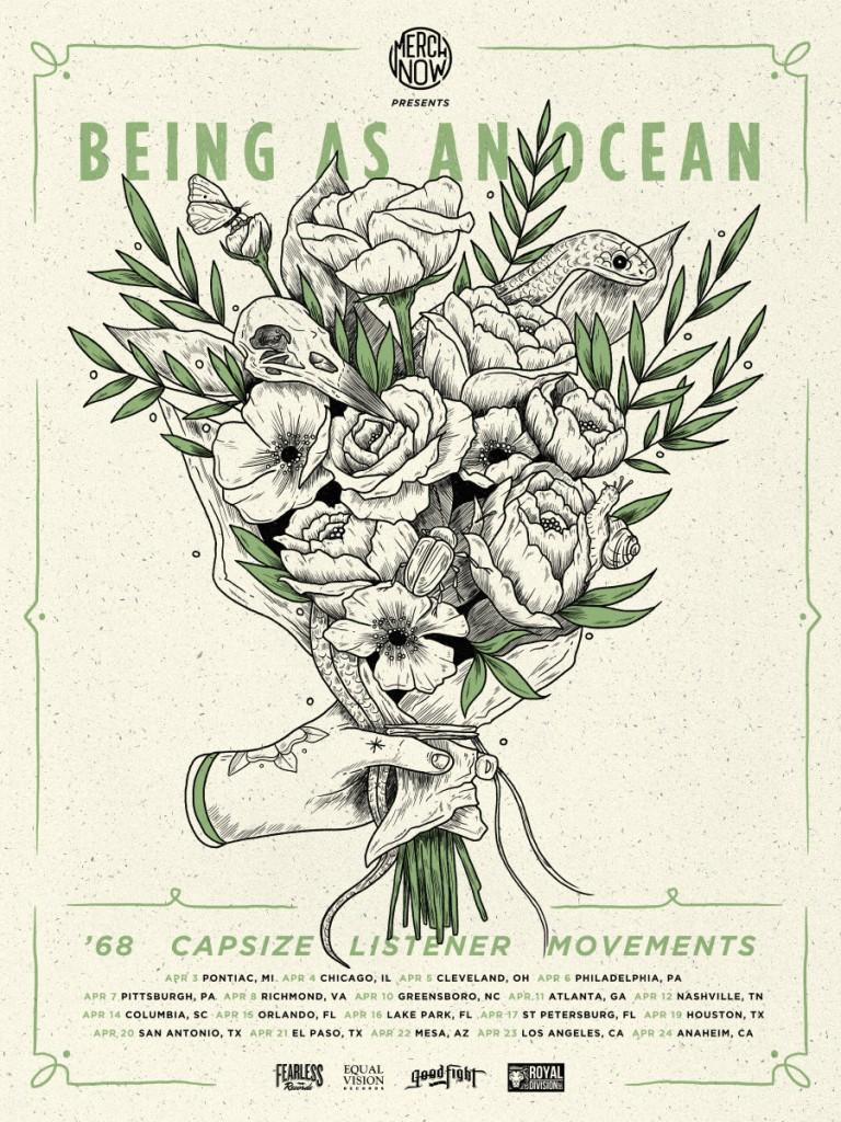 Being as an Ocean Headlining Tour