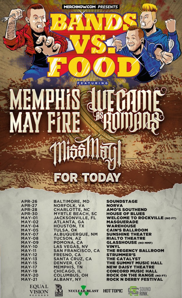 Bands vs. Food Tour