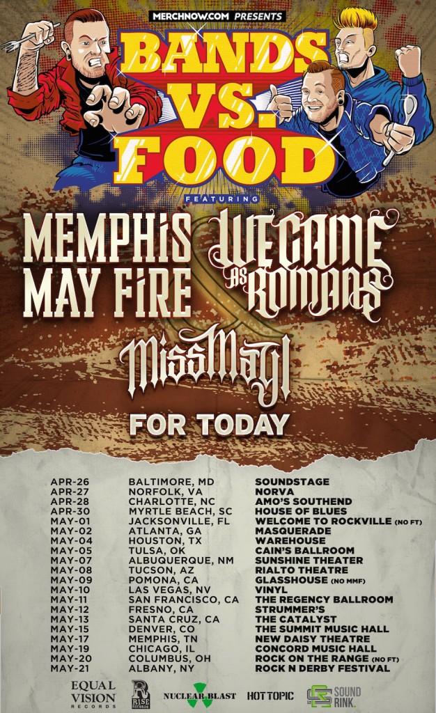 Bands vs. Food Tour