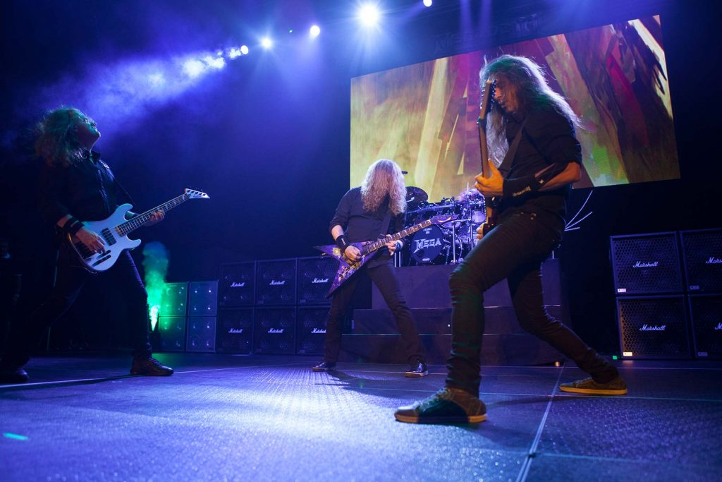 Megadeth photo by Mitchell Loper for HM Magazine