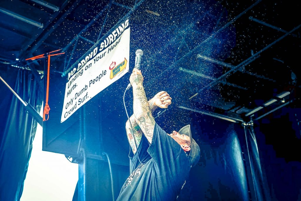 The Acacia Strain at Vans Warped Tour photo by Justine Cherry