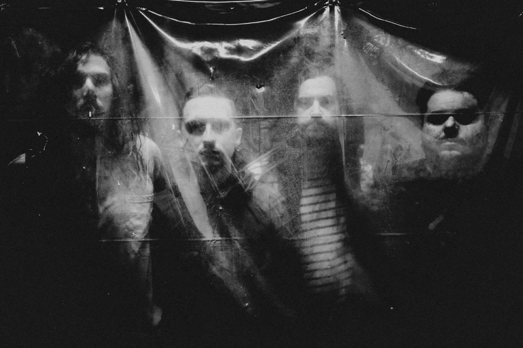 Silent Planet, from left, Garrett Russell, Mitchell Stark, Thomas Freckleton, Alex Camarena