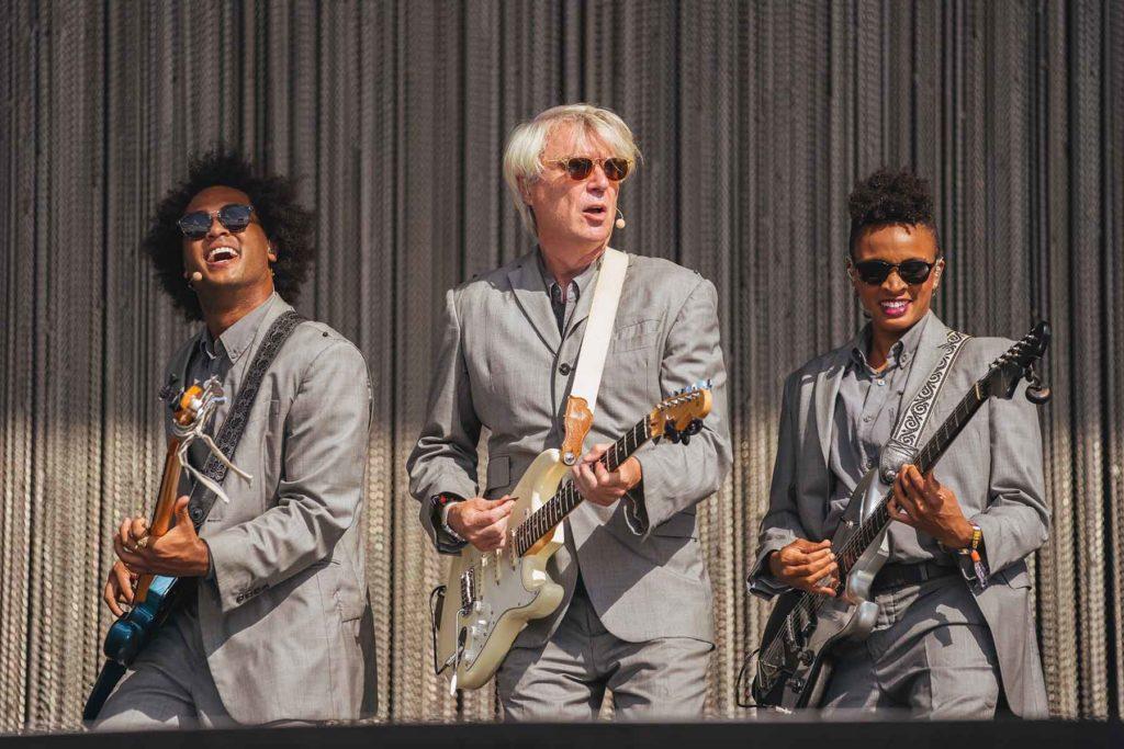 David Byrne Photo by Roger Ho
