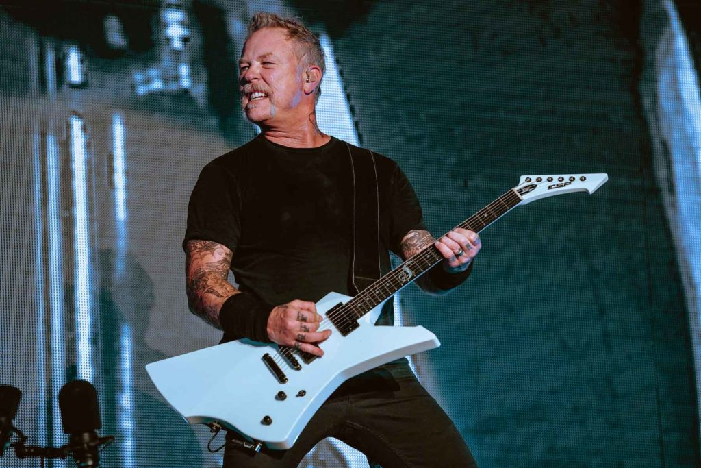 Metallica Photo by Roger Ho