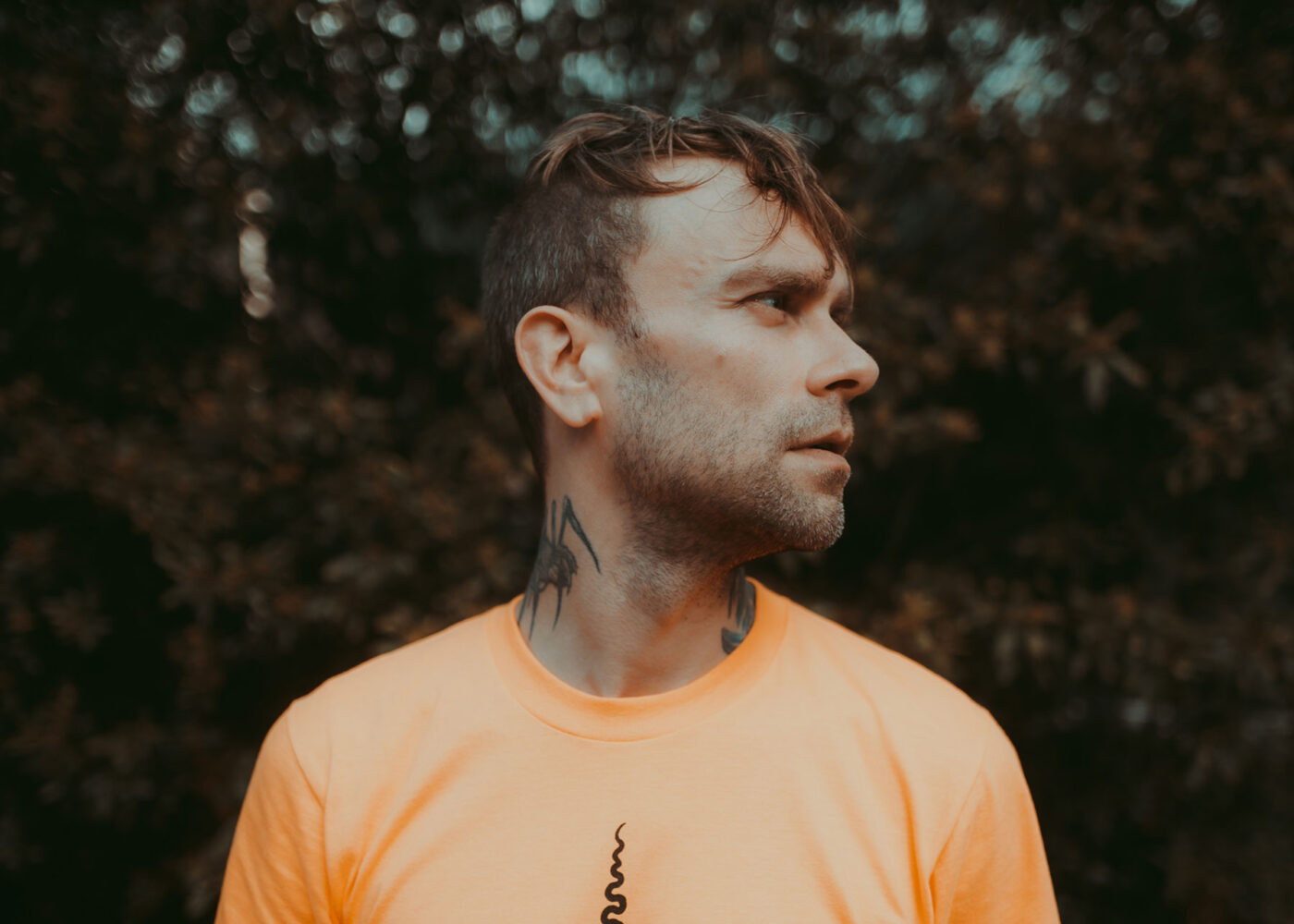 Bert McCracken of The Used Photo by Aaron Berkshire