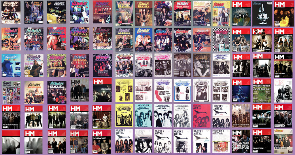 A collection of old school HM covers