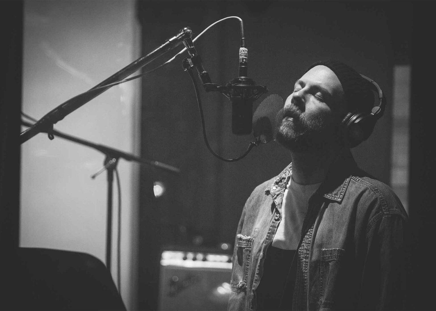 Ryan Clark of Demon Hunter records 'Songs'