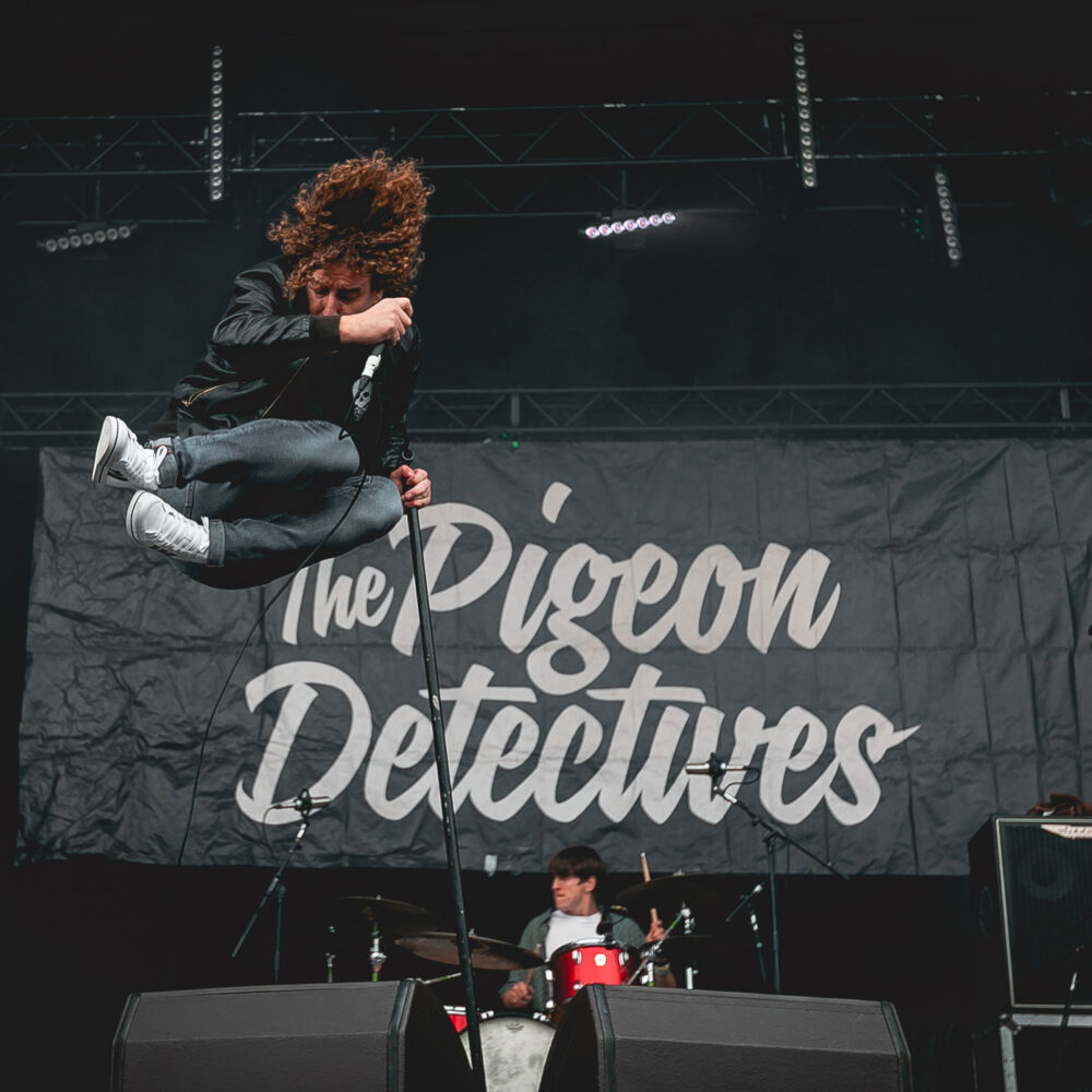 The Pigeon Detectives at Tramlines Festival, July 23, 2021